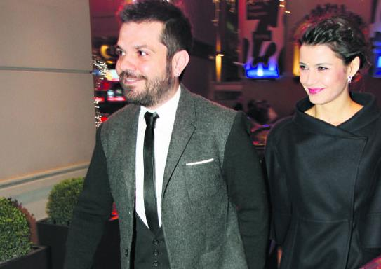 Beren Saat And Her Husband